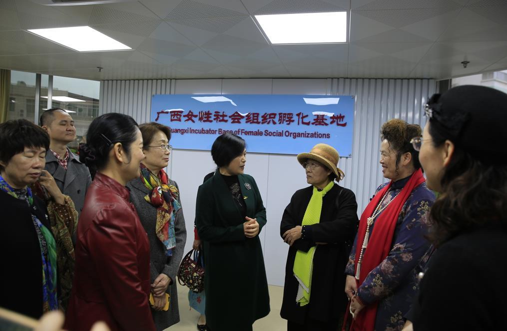 广西绿荫妇女儿童社会服务中心成立20周年纪念活动